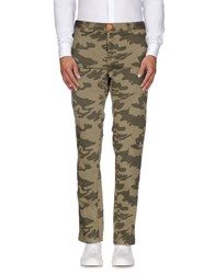 Magazzini Del Sale Casual Pants Military Green