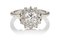 Mcteigue And Mcclelland Women's Berry Cluster Ring Silver