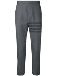 Thom Browne 4 Bar Skinny Fit Trouser Grey