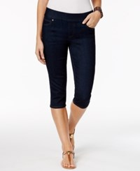 Style And Co Petite Pull On Skimmer Jeans Only At Macy's Rinse