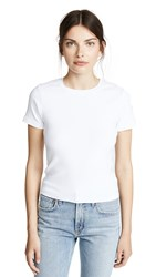 Stateside The Perfect Cropped Tee White