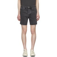 Ksubi Grey Denim Dagger Dan Shorts