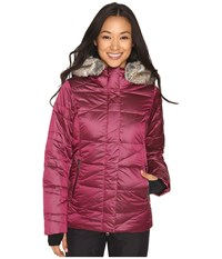 Obermeyer Bombshell Down Parka Bordeaux Women's Coat Burgundy