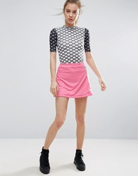 Illustrated People Popper Skirt Pink