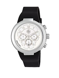 Philip Stein Teslar Round Stainless Steel Watch Black