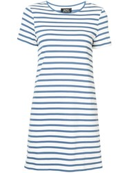 A.P.C. T Shirt Dress Cotton S White