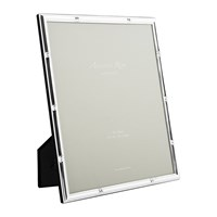 Addison Ross Bamboo Photo Frame Silver 8X10