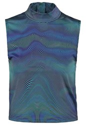 Bench Jess Glynne Home Top Navy Blue Multicoloured
