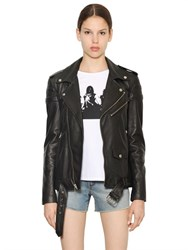 Blk Dnm Leather Jacket 8 Lightweight Leather