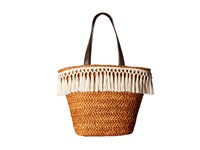 San Diego Hat Company Bsb1713 Woven Cornhusk Tote Natural Tote Handbags Beige