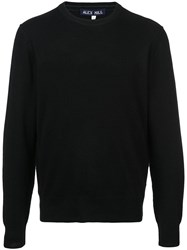 Alex Mill Fine Knit Jumper Black