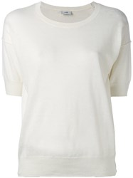 Closed Loose Fit T Shirt White
