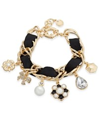 Charter Club Gold Tone Imitation Pearl Charm Bracelet Only At Macy's