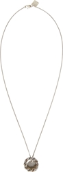 Goti Silver Double Pendant Necklace