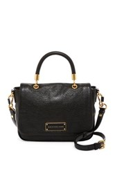 Marc By Marc Jacobs Too Hot To Handle Small Leather Handbag Black