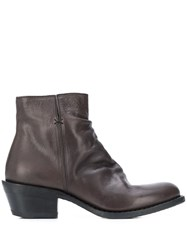 Fiorentini Baker Leather Ankle Boots Brown