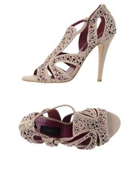 John Richmond Sandals Beige