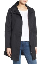 Kristen Blake Women's Hooded Utility Trench Coat