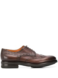 Santoni Thick Sole Oxford Shoes 60