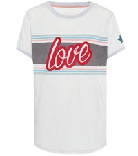 81 Hours Love Cotton T Shirt White