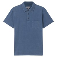 Jigsaw Printed Polo Shirt Indigo