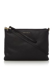 Coccinelle Minibag Pouch Cross Body Bag Black
