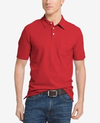 Izod Men's Fairway Polo Shirt Real Red