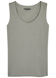 Crea Concept Grey Stretch Jersey Tank