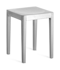 Emeco Stool Silver