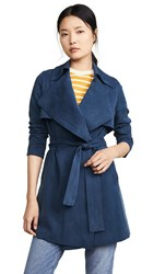 Club Monaco Claudine Trench Coat Canyon Blue