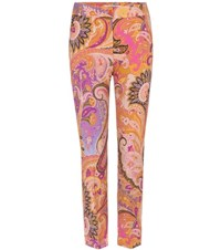 Etro Printed Trousers Multicoloured