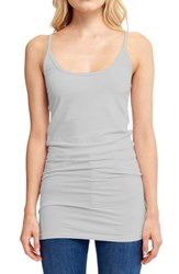 Lamade Women's Cotton And Modal Camisole Heather Grey