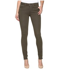 Paige Shay Zip Ankle In Olive Leaf Olive Leaf Women's Jeans
