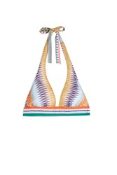 Missoni Women S Diamond Knit Bikini Top Boutique1 Multi