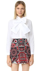 Holly Fulton Button Down Shirt White