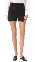 Vince High Waist Shorts Black