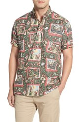 Men's Reyn Spooner 'Hawaiian Christmas' Classic Fit Wrinkle Free Pullover Shirt