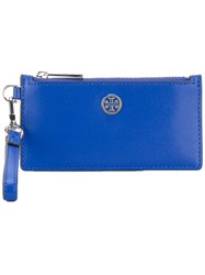 Tory Burch Wrist Wallet Blue