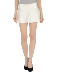 Atelier Fixdesign Mini Skirts White