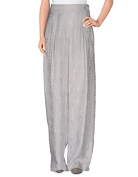 Donna Karan Trousers Casual Trousers Women Light Grey