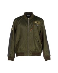 P.A.M. Perks And Mini Coats And Jackets Jackets Men Military Green
