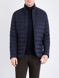 Ralph Lauren Purple Label Down Filled Padded Shell Jacket Classic Chairman Navy