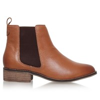 Carvela Storm Ankle Boots Tan Leather
