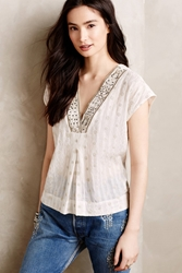 Burning Torch Parva Top White