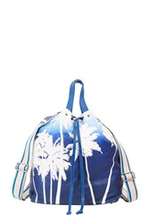 Paul And Joe Sunny Palm Backpack Blue