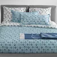 Trussardi Eclissi Duvet Cover Set Avio King