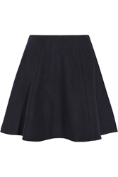 Theory Merlock Wool Blend Mini Skirt