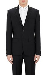 Givenchy Zipper Detailed Sportcoat Black