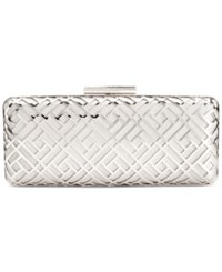 Inc International Concepts Aislynn Clutch Only At Macy's Silver