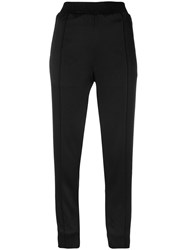 Haider Ackermann Cropped Trousers Acetate Viscose Black